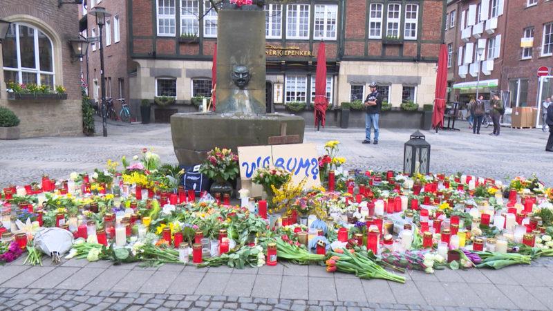 Viertes Todesopfer nach Münsteraner Amok-Fahrt (Foto: SAT.1 NRW)