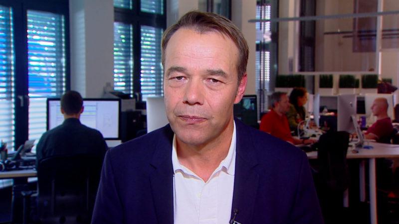 Peter Pohl zur Transitzentren-Diskussion (Foto: SAT.1 NRW)