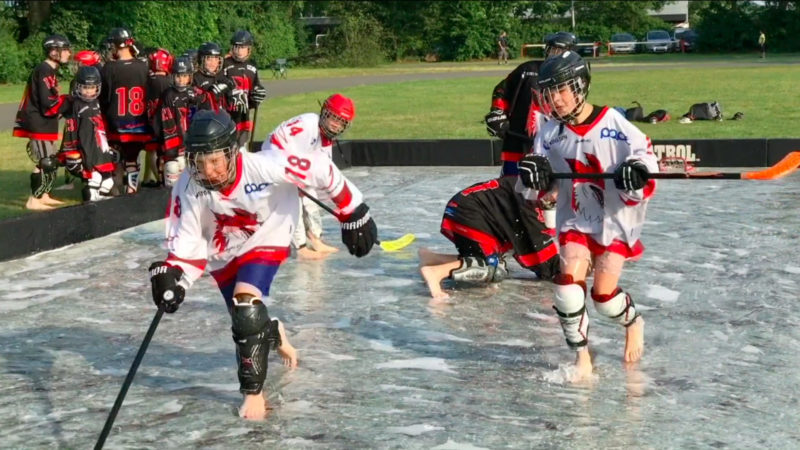 Trendsport Soap-Hockey (Foto: SAT.1 NRW)