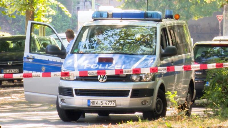 Schießerei in Duisburg - Zwei Menschen werden schwer verletzt (Foto: SAT.1 NRW)