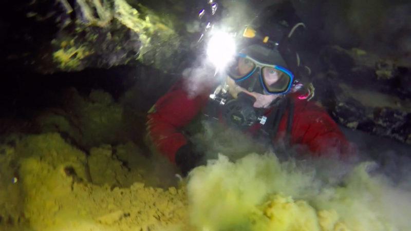 Höhlentauchen - faszinierend und gefährlich (Foto: SAT.1 NRW)