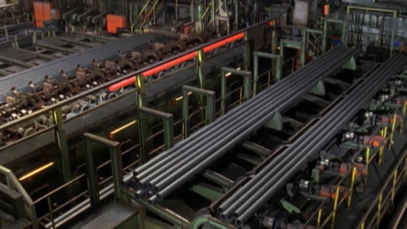 Angst um Jobs bei Stahlkonzern (Foto: SAT.1 NRW)