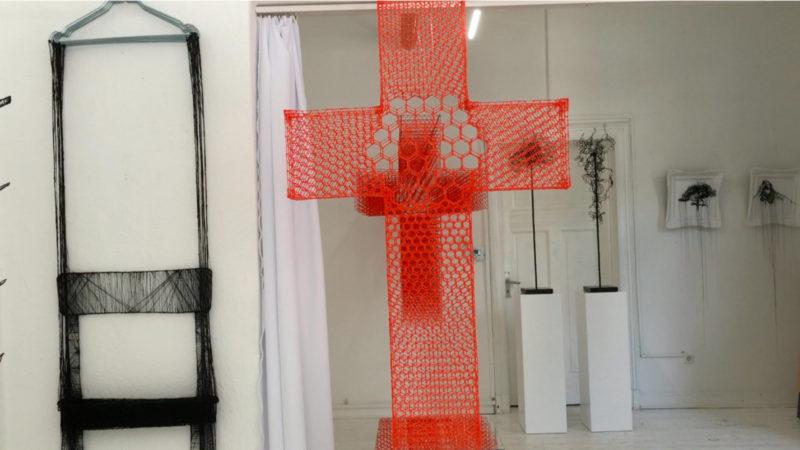 Dreidimensionale Kunst (Foto: SAT.1 NRW)