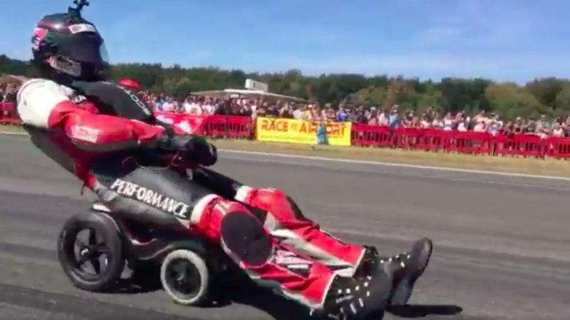 Das schnellste Bobbycar der Welt (Foto: SAT.1 NRW)
