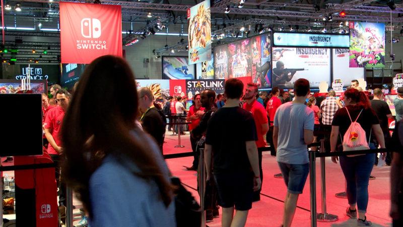 Trends der Gamescom (Foto: SAT.1 NRW)