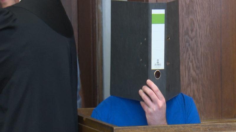 Prozessbeginn in Mönchengladbach - ein Elternpaar soll das gemeinsame Kind getötet haben (Foto: SAT.1 NRW)