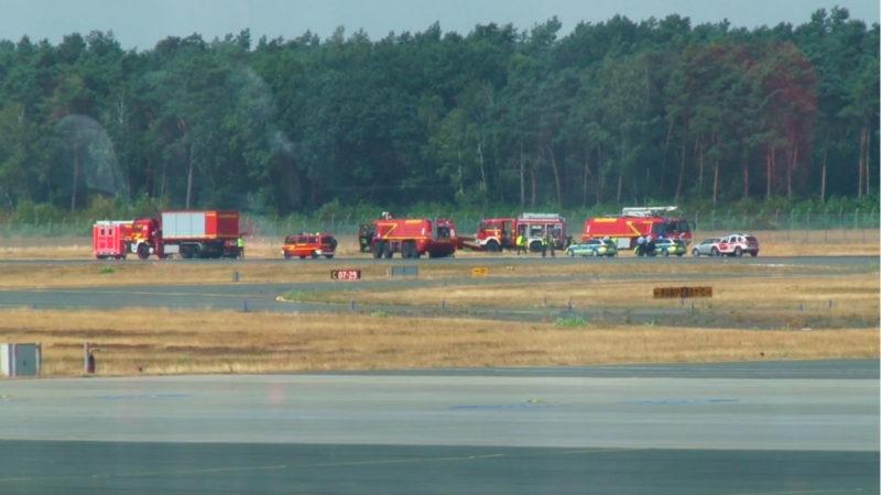 Testflug endet tödlich (Foto: SAT.1 NRW)