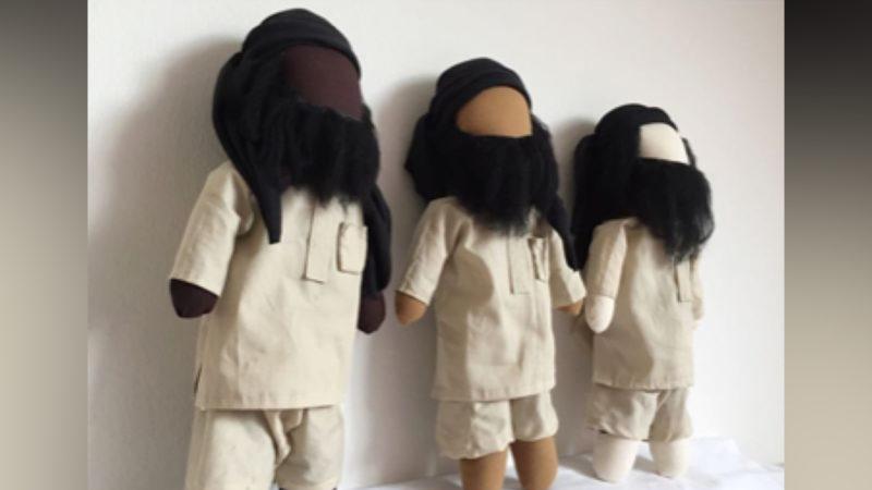 Salafisten-Puppen (Foto: SAT.1 NRW)