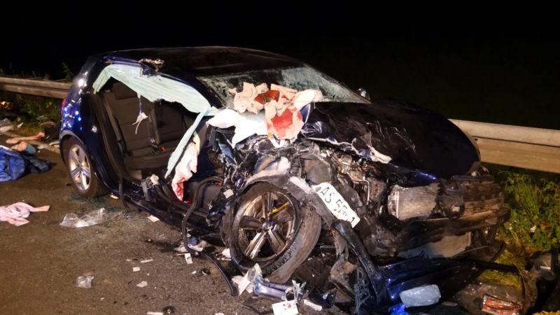 Autorennen endet tödlich (Foto: SAT.1 NRW)