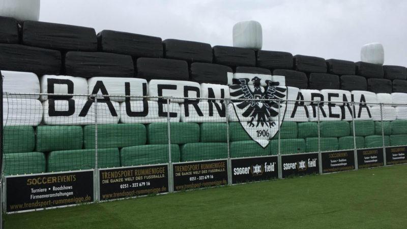 Bauern bauen Stadion (Foto: SAT.1 NRW)
