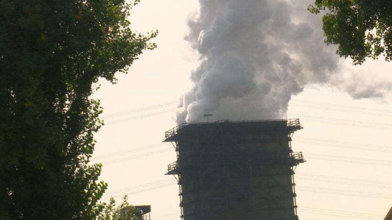 Kohlenstaub verschmutzt Wohnviertel (Foto: SAT.1 NRW)