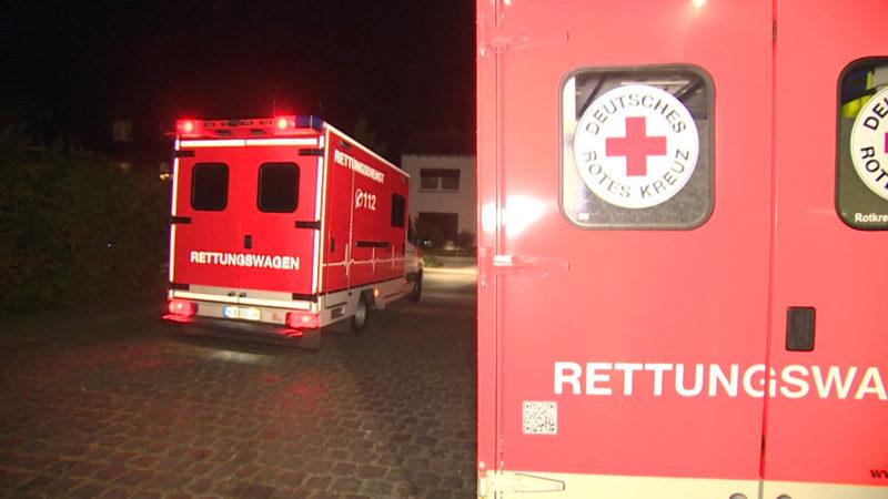 Feuer im Knast (Foto: SAT.1 NRW)