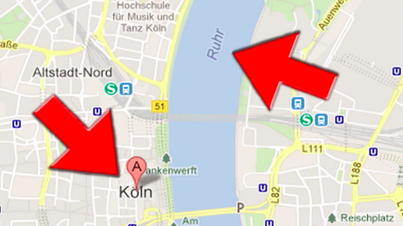 Google-Fails in NRW (Foto: SAT.1 NRW)
