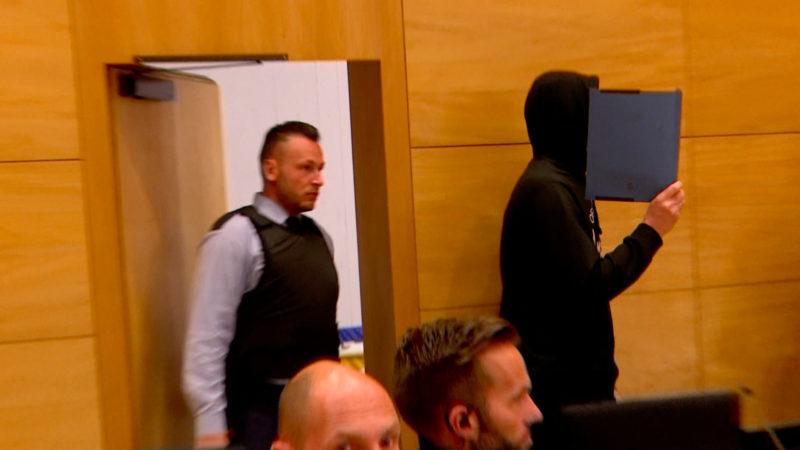 Hille-Killer vor Gericht (Foto: SAT.1 NRW)