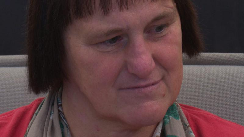 Angeklagte Angelika W. sagt im Horror-Haus-Prozess aus (Foto: SAT.1 NRW)