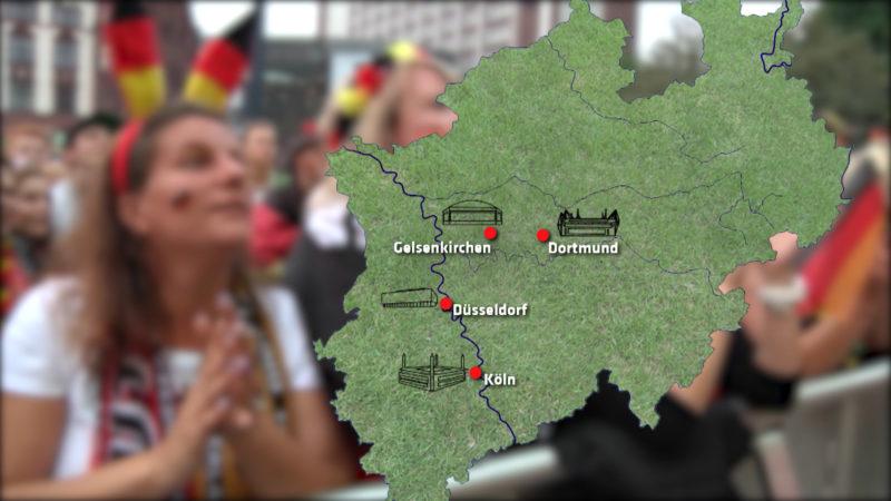 Europameisterschaft-Standorte in NRW (Foto: SAT.1 NRW)
