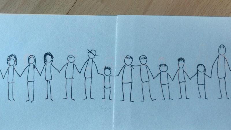 Krefelder Künstler gegen Rassismus (Foto: SAT.1 NRW)