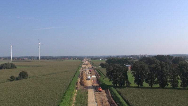 Widerstand gegen Stromautobahn (Foto: SAT.1 NRW)