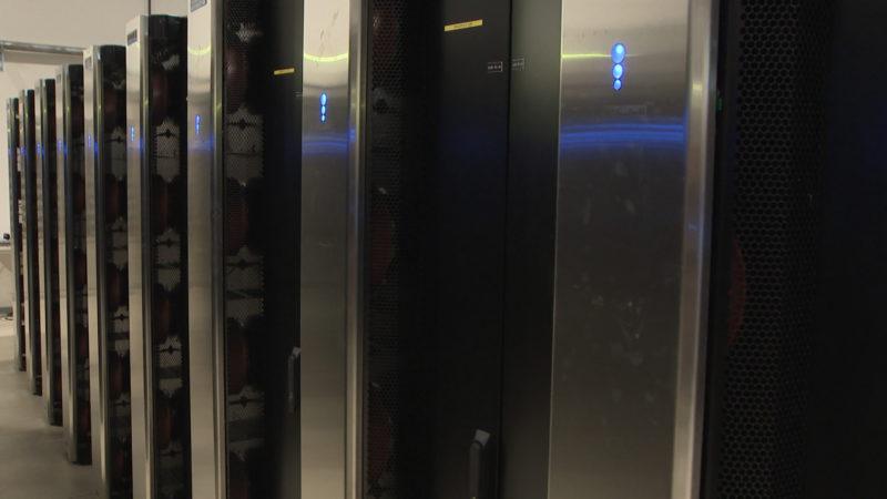 Schnellster Superrechner bei uns in NRW (Foto: SAT.1 NRW)