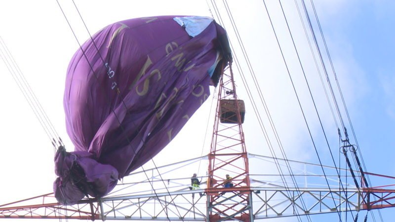 Heißluftballon-Drama in Bottrop (Foto: SAT.1 NRW)