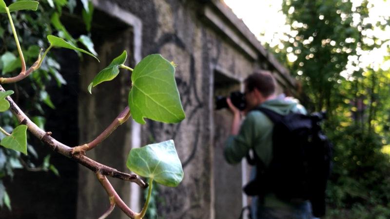 Tschernobyl-Fotograf (Foto: SAT.1 NRW)