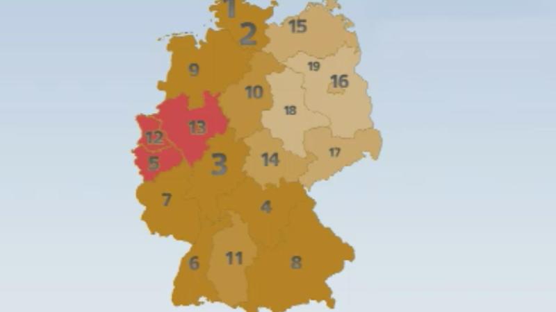 Westfalen unglücklich?! (Foto: SAT.1 NRW)