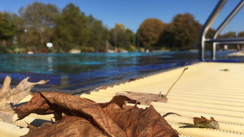 Ins Freibad im Oktober! (Foto: SAT.1 NRW)
