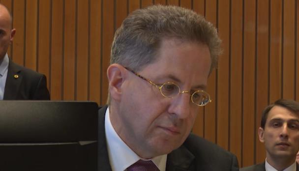 Hans Georg Maßen im Untersuchungsausschuss zum Fall Anis Amri (Foto: SAT.1 NRW)