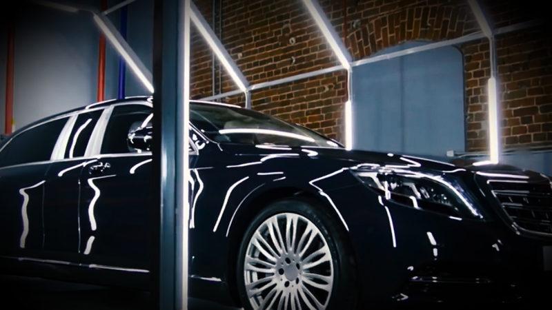 Luxuswagen für VIP´s und Präsidenten (Foto: SAT.1 NRW)