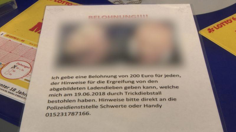 Steckbrief-Verbot trotz Ladendiebstahl (Foto: SAT.1 NRW)