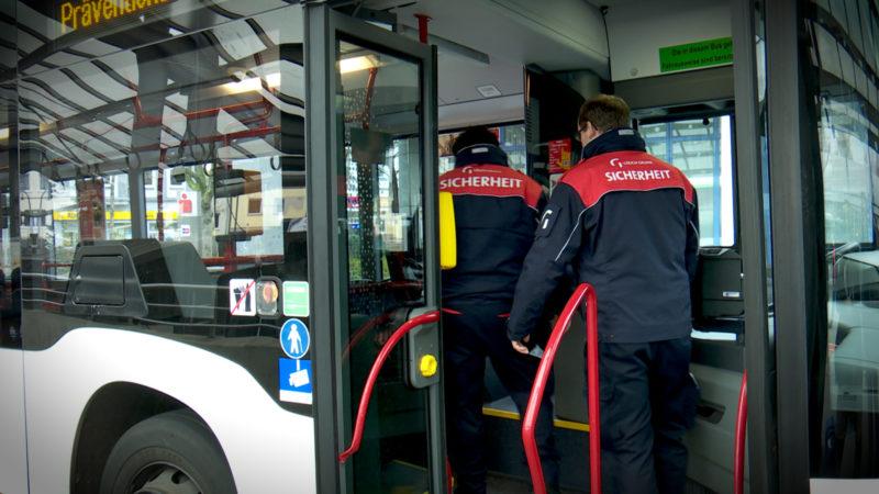 Security für Busfahrer (Foto: SAT.1 NRW)