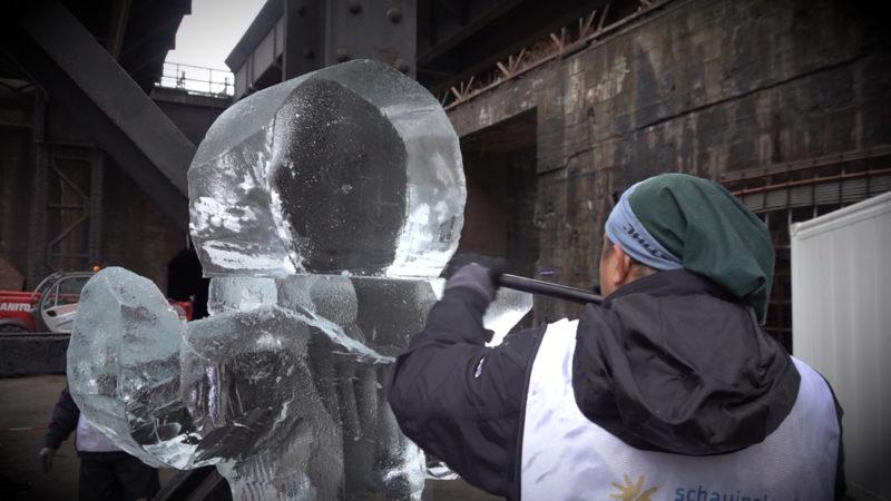 Kunst aus Eis (Foto: SAT.1 NRW)