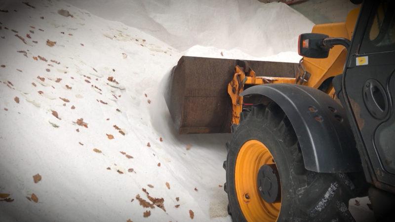 Erster Schnee in NRW (Foto: SAT.1 NRW)