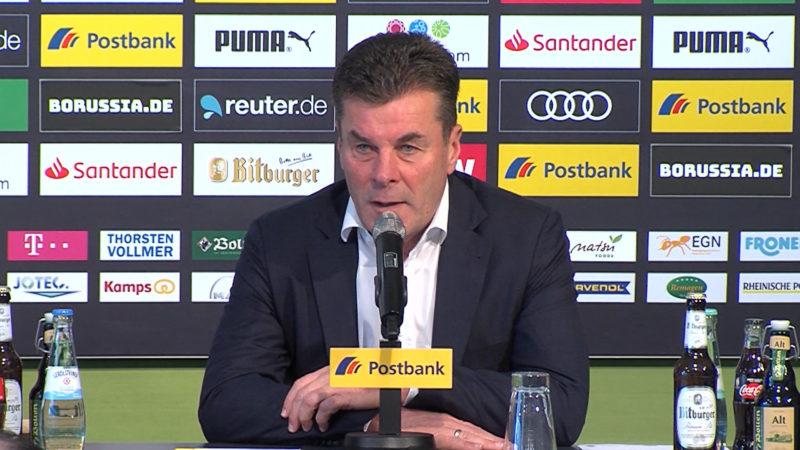 Dieter Hecking - Vertrag verlängert (Foto: SAT.1 NRW)
