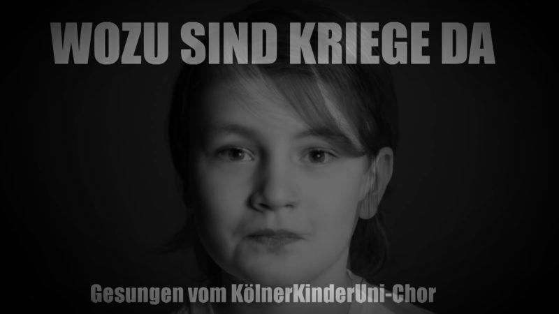 """""""Wozu sind Kriege da?"""" (Foto: SAT.1 NRW)"""