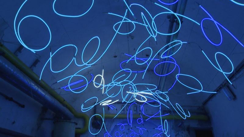 Lichtkunst (Foto: SAT.1 NRW)