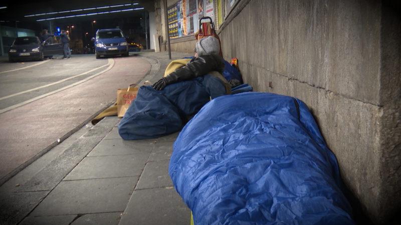 Keine Knöllchen für Obdachlose (Foto: SAT.1 NRW)