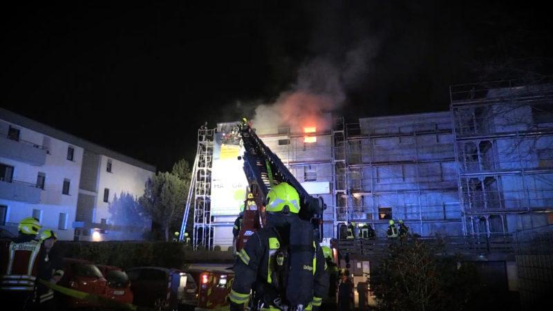 Filmreife Rettung aus einem brennenden Haus (Foto: SAT.1 NRW)