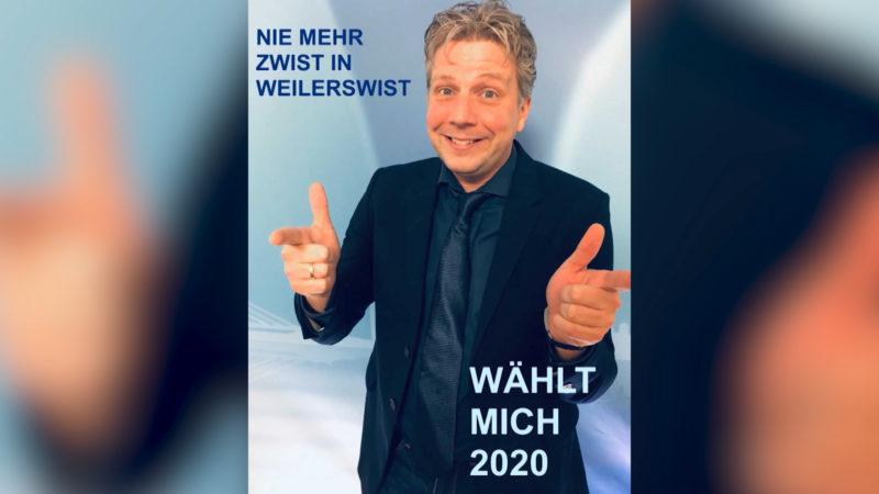 REPORTER ALS BÜRGERMEISTER? (Foto: SAT.1 NRW)