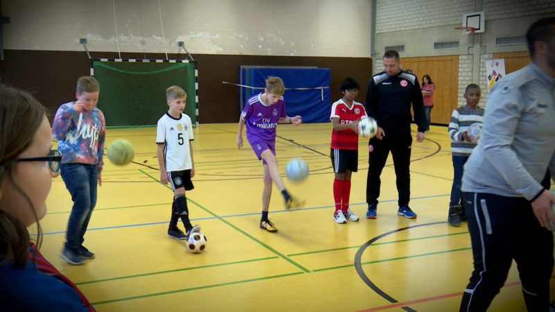 Ruhr-Konferenz fördert Sport-Integration (Foto: SAT.1 NRW)