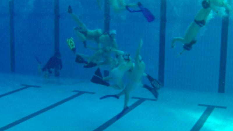Rugby-WM unter Wasser (Foto: SAT.1 NRW)