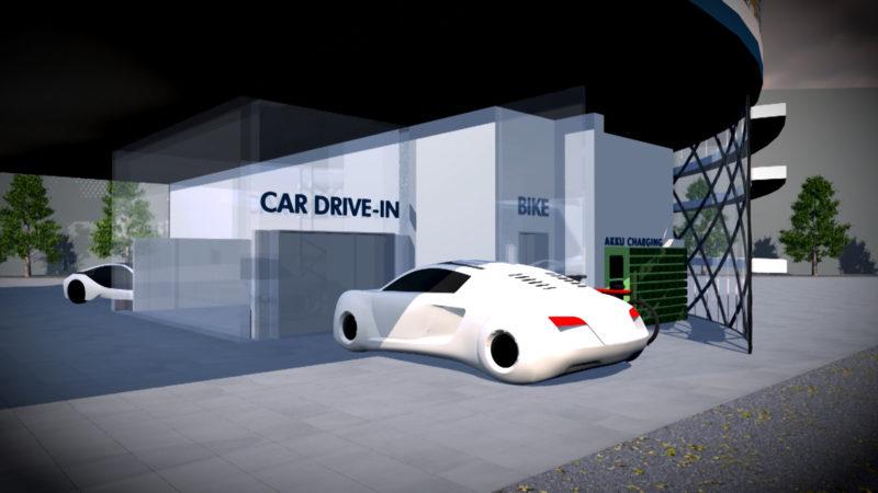 Tankstelle der Zukunft (Foto: SAT.1 NRW)