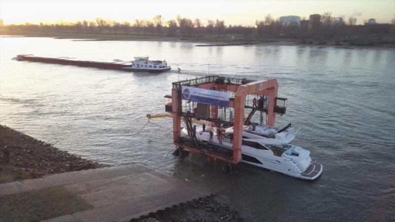 Luxus-Boote legen an (Foto: SAT.1 NRW)