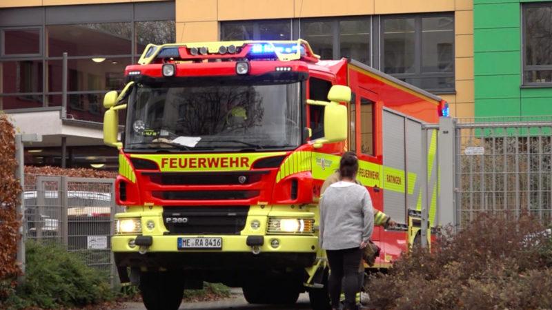 Brand in Seniorenheim (Foto: SAT.1 NRW)