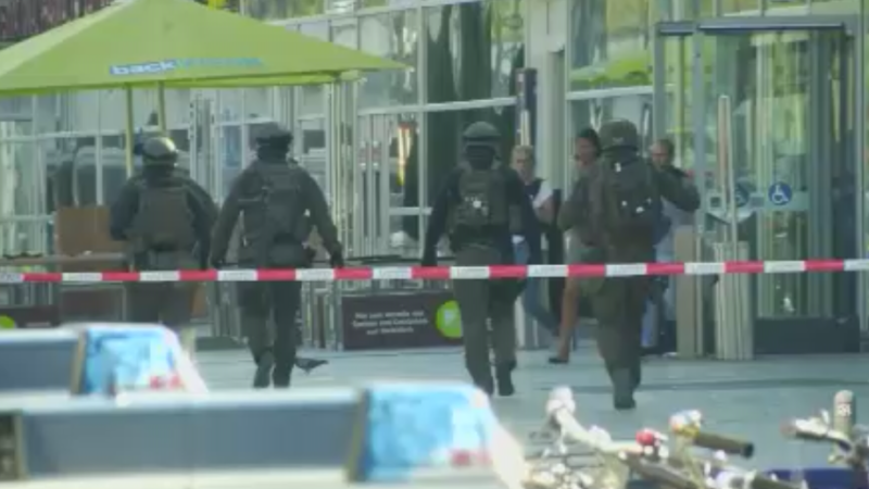 Köln Hbf: Kein Terror (Foto: SAT.1 NRW)
