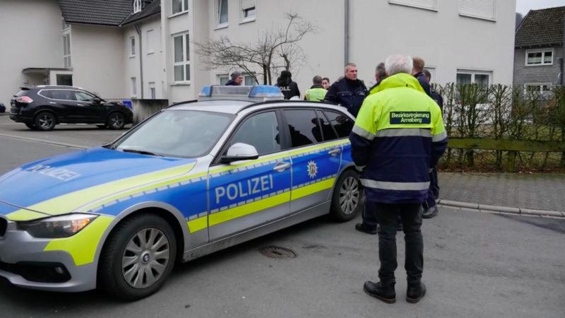 Rätselhafter Sprengstoff-Fund in Bad Berleburg (Foto: SAT.1 NRW)