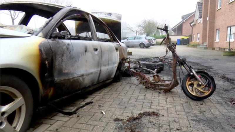 Brüggen fürchtet Feuerteufel (Foto: SAT.1 NRW)