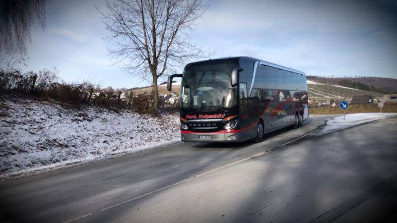 Brexitfolgen für Busunternehmen (Foto: SAT.1 NRW)