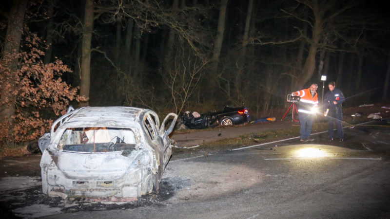 Horror-Crash (Foto: SAT.1 NRW)