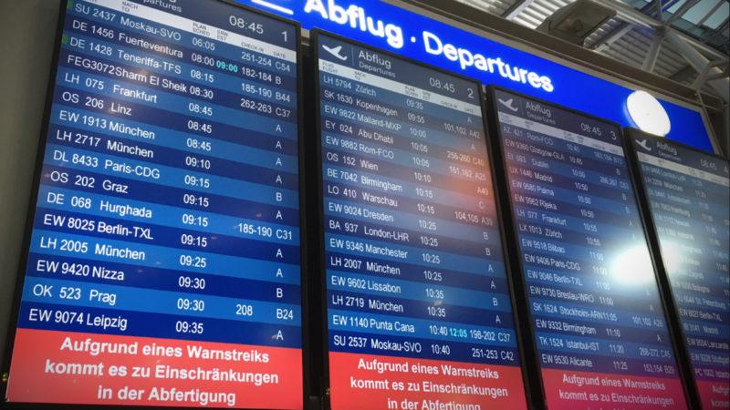 Keine weiteren Streiks an den Flughäfen (Foto: SAT.1 NRW)
